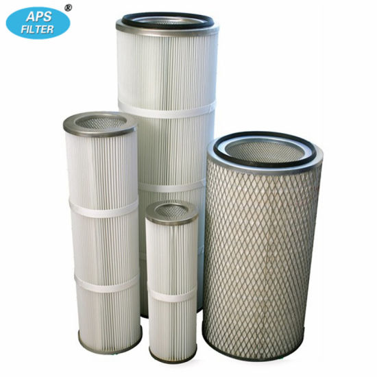 Aps Supply Good Material Pleated Dust Collector Filter Cartridges