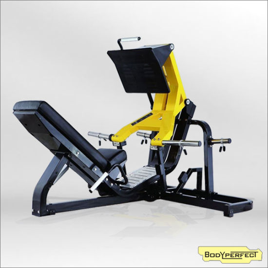 China Bft-1006 Hammer Strength Machines Leg Press Equipment Gym