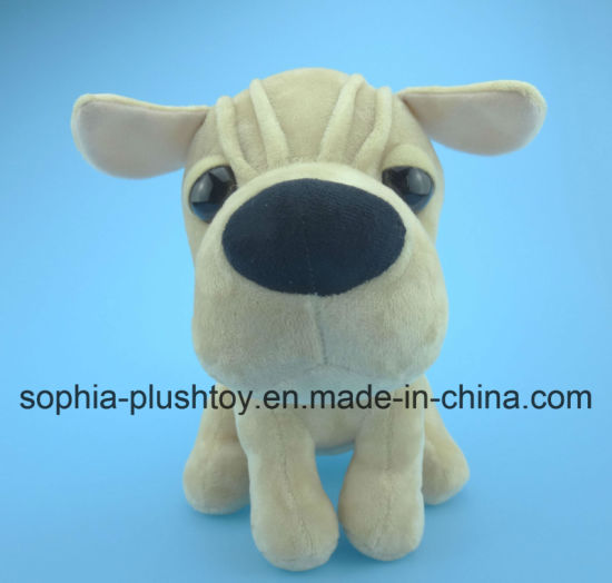 Soft Plush Dog Toy-Wrinkle Dog pictures & photos