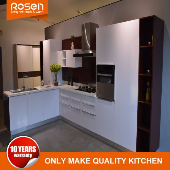 High Quality China Cheap Glass Door Kitchen Cabinets Furniture