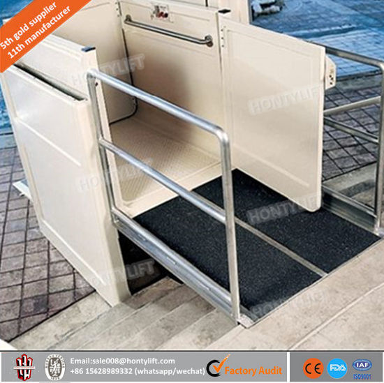 1.5-6m Home Lift Vertical Platform Wheelchair Lift pictures & photos