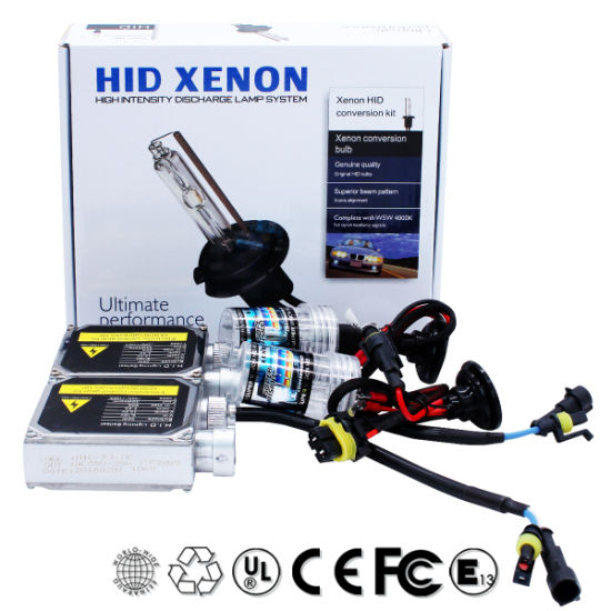 Car Accessories High Power Car HID Xenon with LED Headlight (6000K on