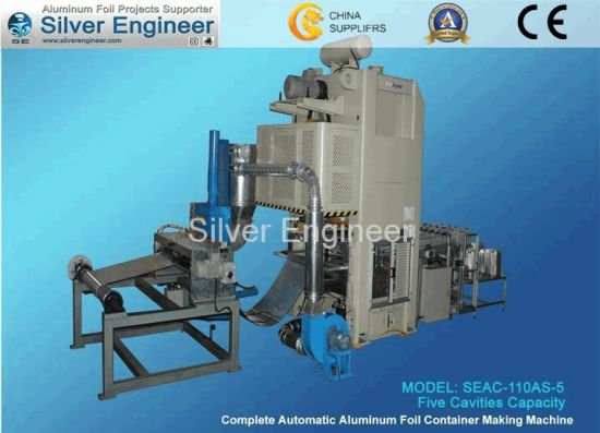 110ton Aluminum Foil Container Making Machines pictures & photos