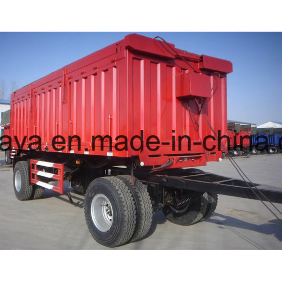 Front Towing Drawbar Small Box Trailer pictures & photos