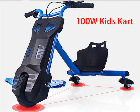 Kids Pedal Solding Electric Bike with 100W Motor