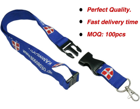 Woker Card Lanyard with Customer Logo Printing pictures & photos