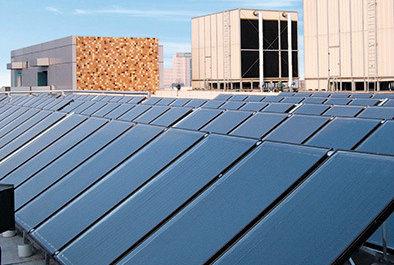 Blue Titanium Project Flat Panel Solar Collector