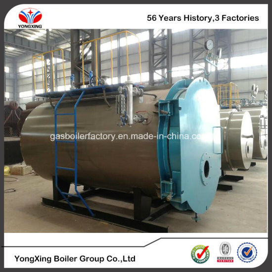 China Industrial Use Wns 4t Gas/Oil Fired Steam Boiler - China Gas ...