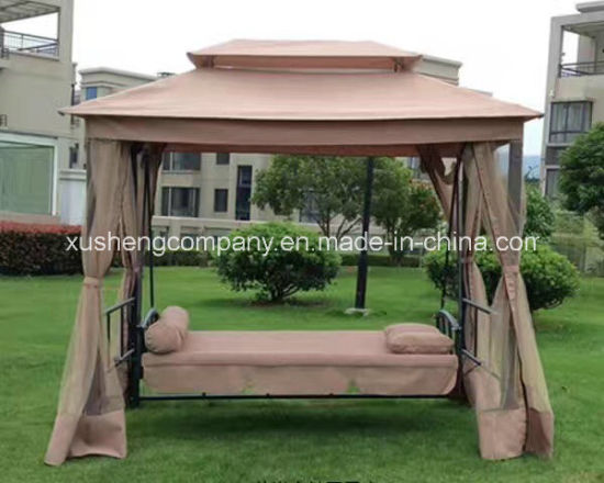 Swing Chair With Double Roof Basket