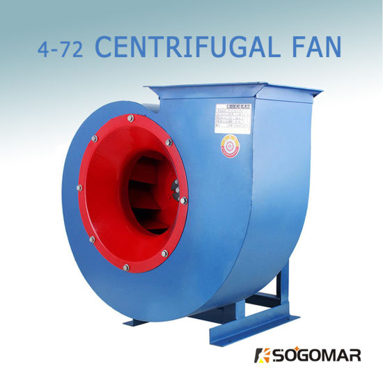 (4-72) Induced Draft Centrifugal Fan for Dust Exhaust and Ventilation