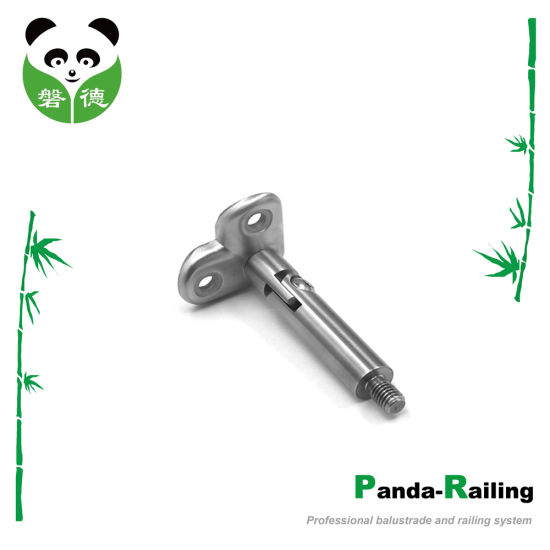 Stainless Steel Semi-Finished Adjustable Detachable 90 Degree Handrail Bracket