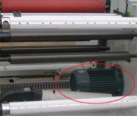Good Performance PVC Tarpaulin Rolling Slitting Machine pictures & photos