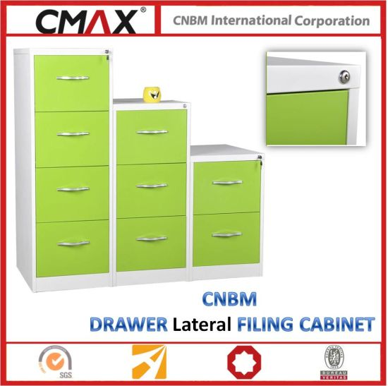 Cnbm Colorful Drawer Vertical Filing Cabinet