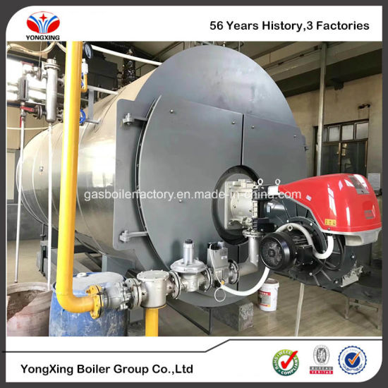 2t/H Natural Gas Steam Boiler /Horizontal Type Fire Tube Gas Boiler ...