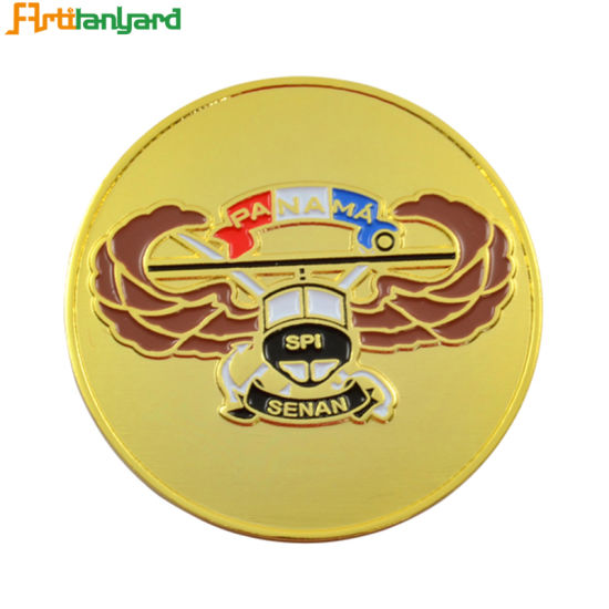 Customer Design Metal Coin with Soft Enamel pictures & photos