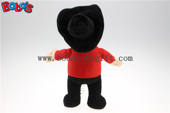 "11.8"" China Custom Puppy Toys Stuffed West Cowboy Doll with Wholesale Price Bos1129 pictures & photos"