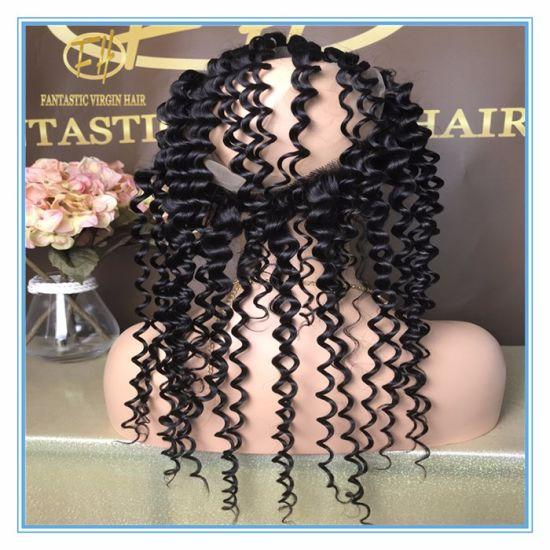 High Quality Natural Color Straight 360 Lace Frontal with Whole Sale Price 360f-001 pictures & photos