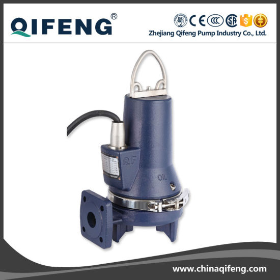 Heavy Duty Electric Sewage Grinder Water Pump (CE)