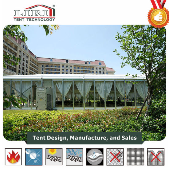 400 People New Outdoor Party Canopy Tent with Glass Wall pictures & photos