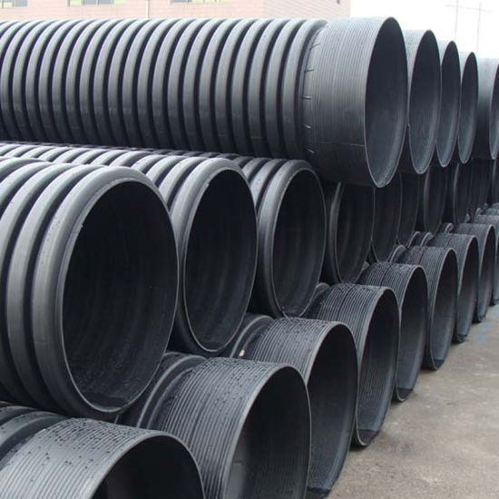 Agricultural Irrigation Hdpe Perforated Double Wall Corrugated Drain Pipe