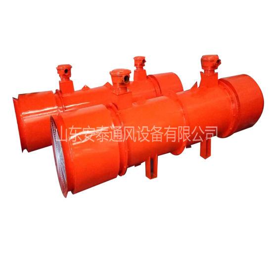 Explosion-Proof Mine Fan Blower Long Distance Air Supply Industrial Axial Exhaust Fan