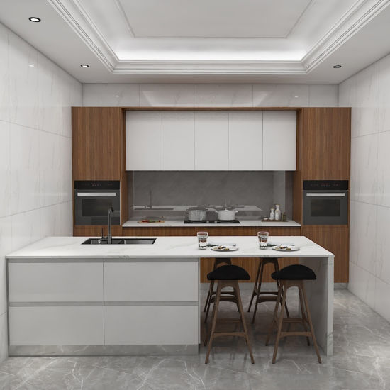 Custom Furniture Modular High Gloss Lacquer Insect Proof Acrylic Kitchen Cabinet