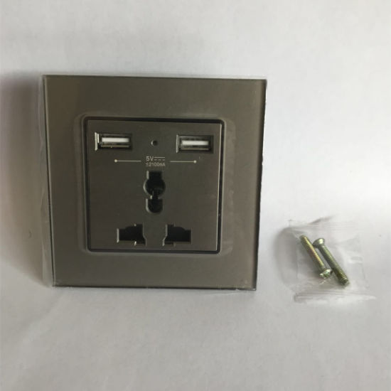 13A Multi-Function Socket with USB 3pin Universal Socket