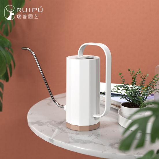 Ruipu (YDSHH) 1200ml Garden Nordic Simplicity Indoor Small Long Stainless Steel Spout Plastic Watering Can