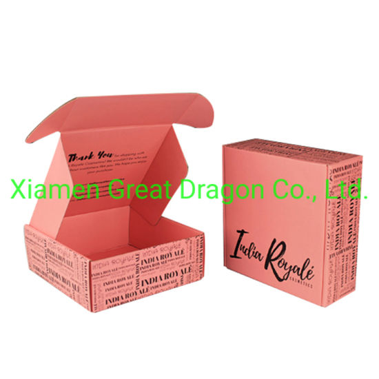 a Wide Variety Sizes of Corrugated Carton Box (CTB040)