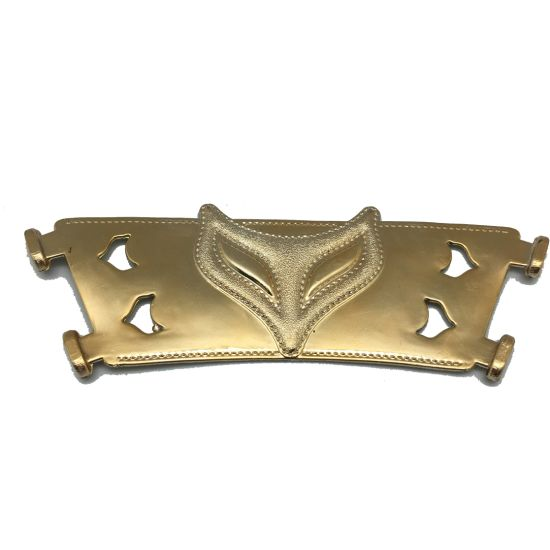 Gold Plating TPU Shoe Accessory Upper for Sandal