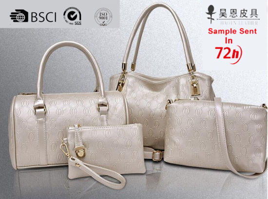 Guangzhou Factory 2020 New PU Leather Designer Tote Women Bag Fashion Ladies Handbag pictures & photos