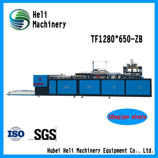 PE Film Liner Cutting and Sewing Machine for Woven Bag