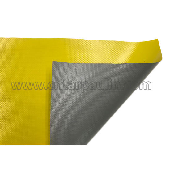 Printed PVC Coated Fabric Fire Retardant Tarpaulin for Tent
