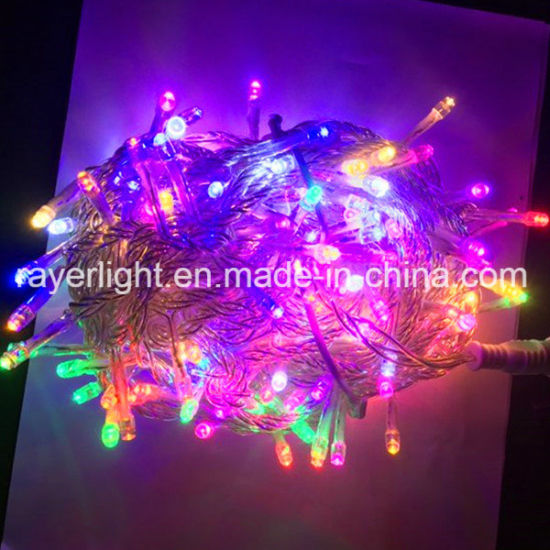 Led Christmas Lights Colors.China Clear Wire Led 8 Colors Flashing Led Christmas Lights