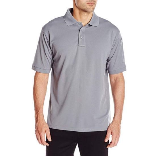Promotional T-Shirt for Men Bulk Factory Manufacturer Cheap Plain Polo T Shirt