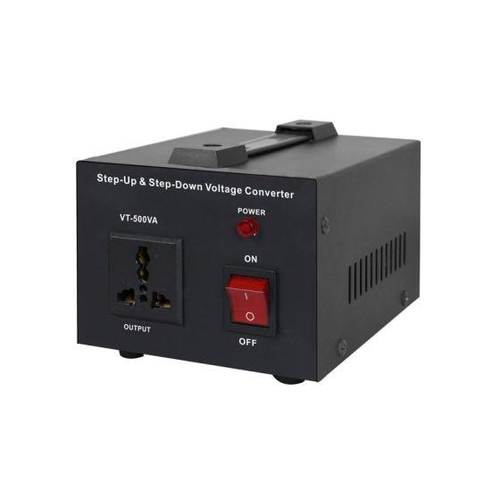 220V 110V 500W Voltage Converter Step up and Down Transformer