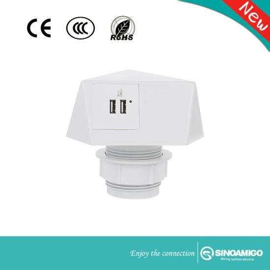 Sinoamigo New Item Sts-4D Table Socket