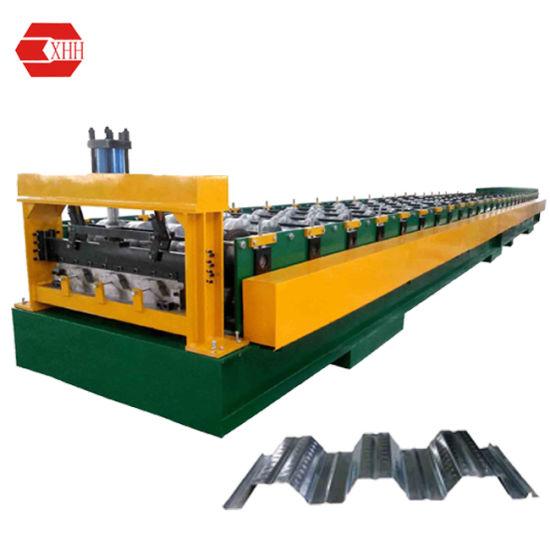 Hydraulic Automatic Metal Steel Floor Decking Panel Roll Forming Machine