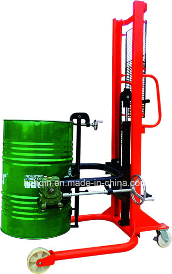 Oil Drum Truck, Oil Drum Lifter with Scale Cot0.35