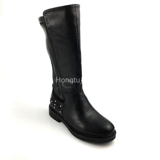 Girl Boots Knee Elastic Long Boots