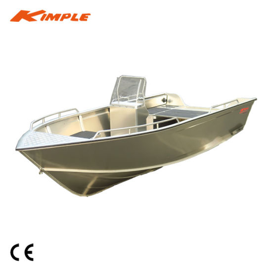 China Kimple-Adventure 550 Aluminium Fishing Boat for Sale - China