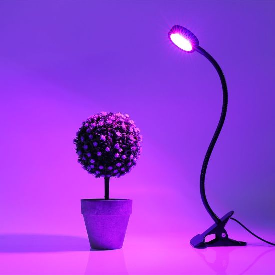 Desk Clip Office 360 Degree Adjustable LED Grow Light pictures & photos