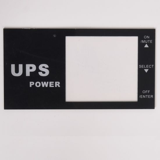 Custom Acrylic Panel Stickers/Labels/Nameplate/Faceplates/Dead Front Panels