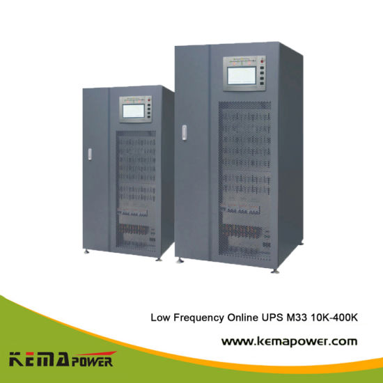 M33-50kVA Three Phase Low Frequency Online Large Power UPS 0.9 Output Power Factor pictures & photos