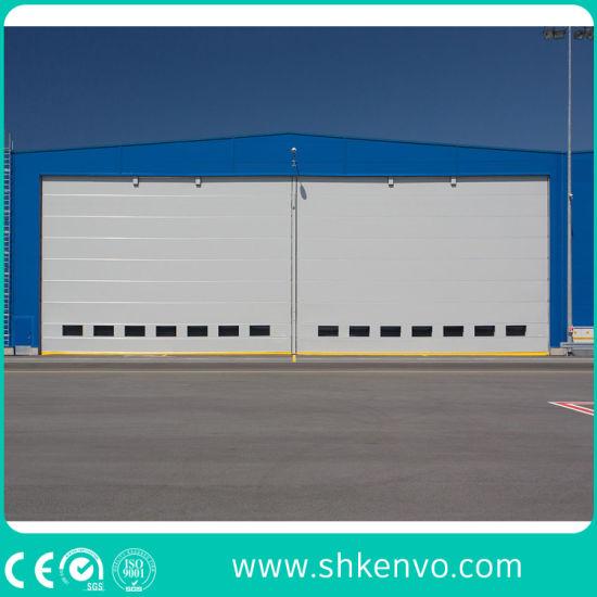 Automatic PVC Fabric Soft Lifting up Aviation Hangar Doors