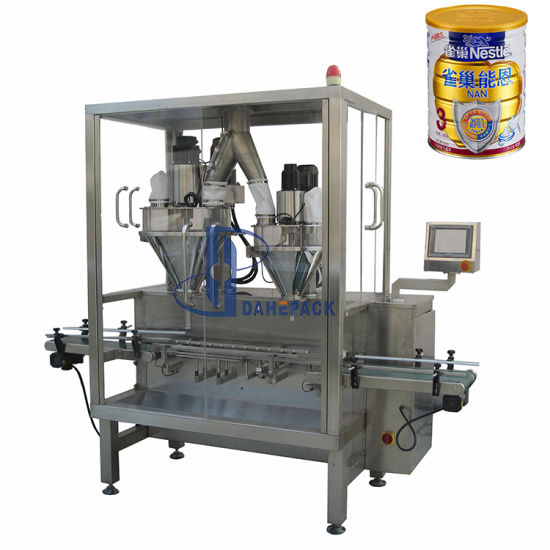 Automatic Milk Powder Can Seaming Line Filling Machine