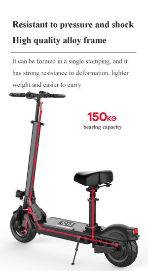 Popular Portable Powered Wholesale Aluminum Alloy Ultron Rechargeable Electric Scooter