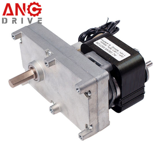 AC Single 1 Phase Shaded Pole Gear Electric Reduction Gearbox Motor