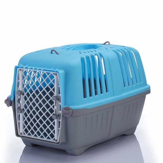 China Flight Plastic Travel Pet Air Box Breathable Big Pet Cat Dog Cage -  China Plastic Pet Cage and Travel Pet Air Box price