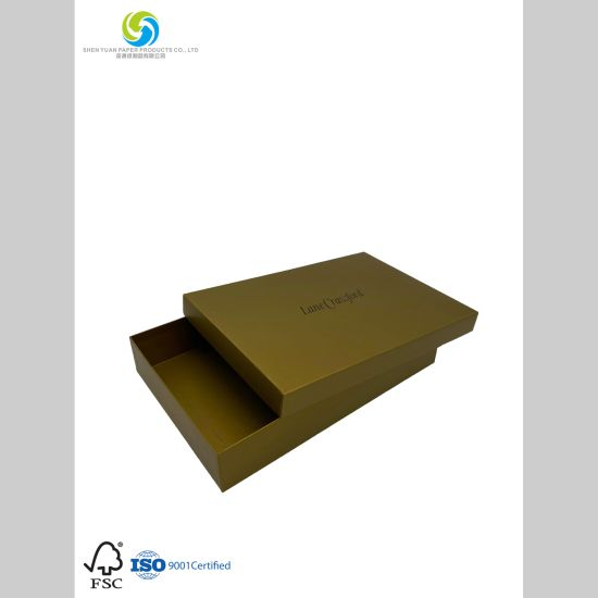 Customized Clothing Box for Packaging The Shoes with Coated Paper